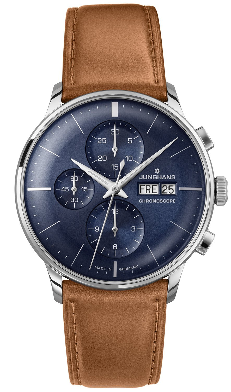 junghans meister chronoscope uhren uhrcenter uhren shop. Black Bedroom Furniture Sets. Home Design Ideas