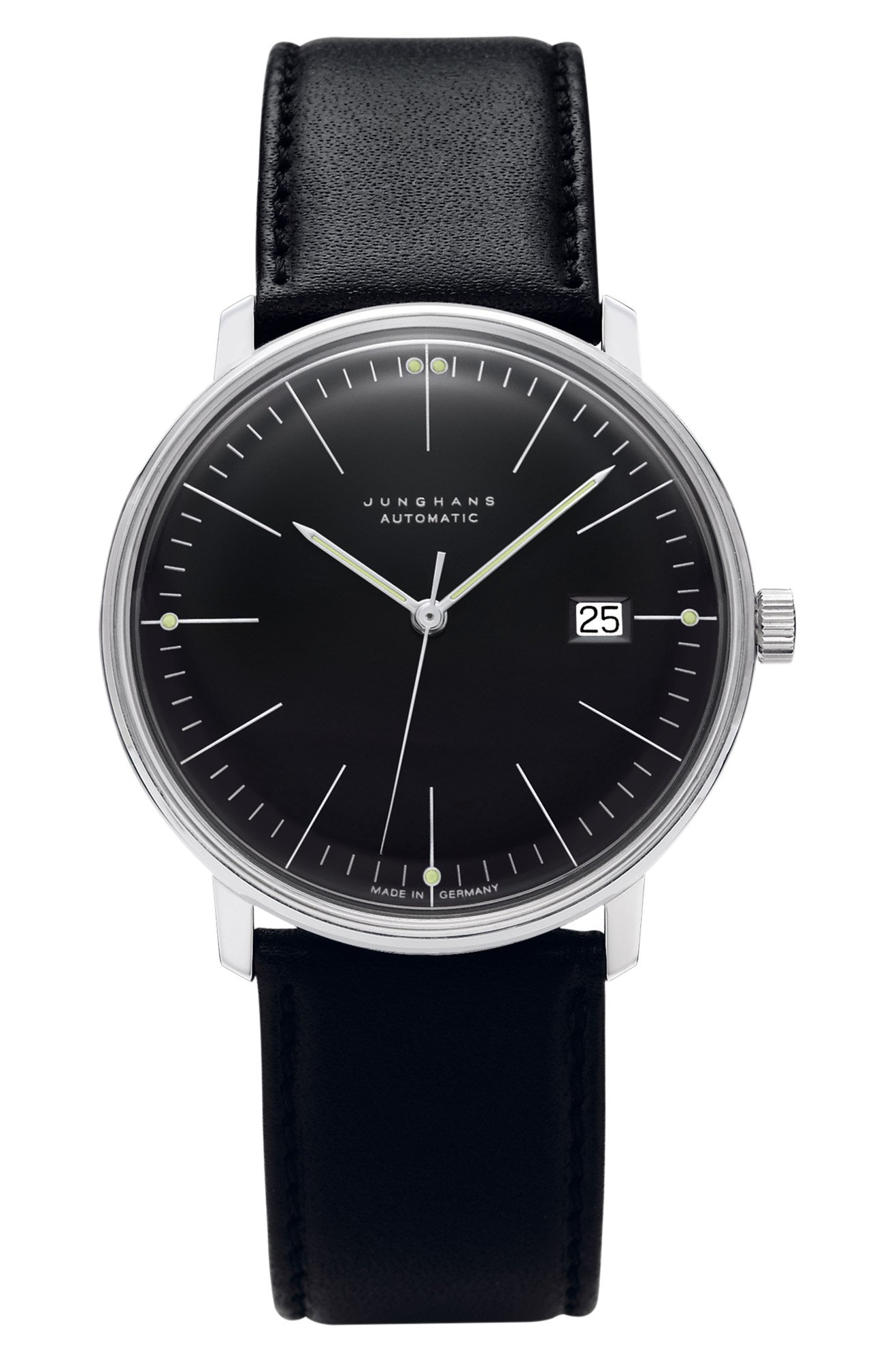 junghans max bill automatic gents watch 027. Black Bedroom Furniture Sets. Home Design Ideas