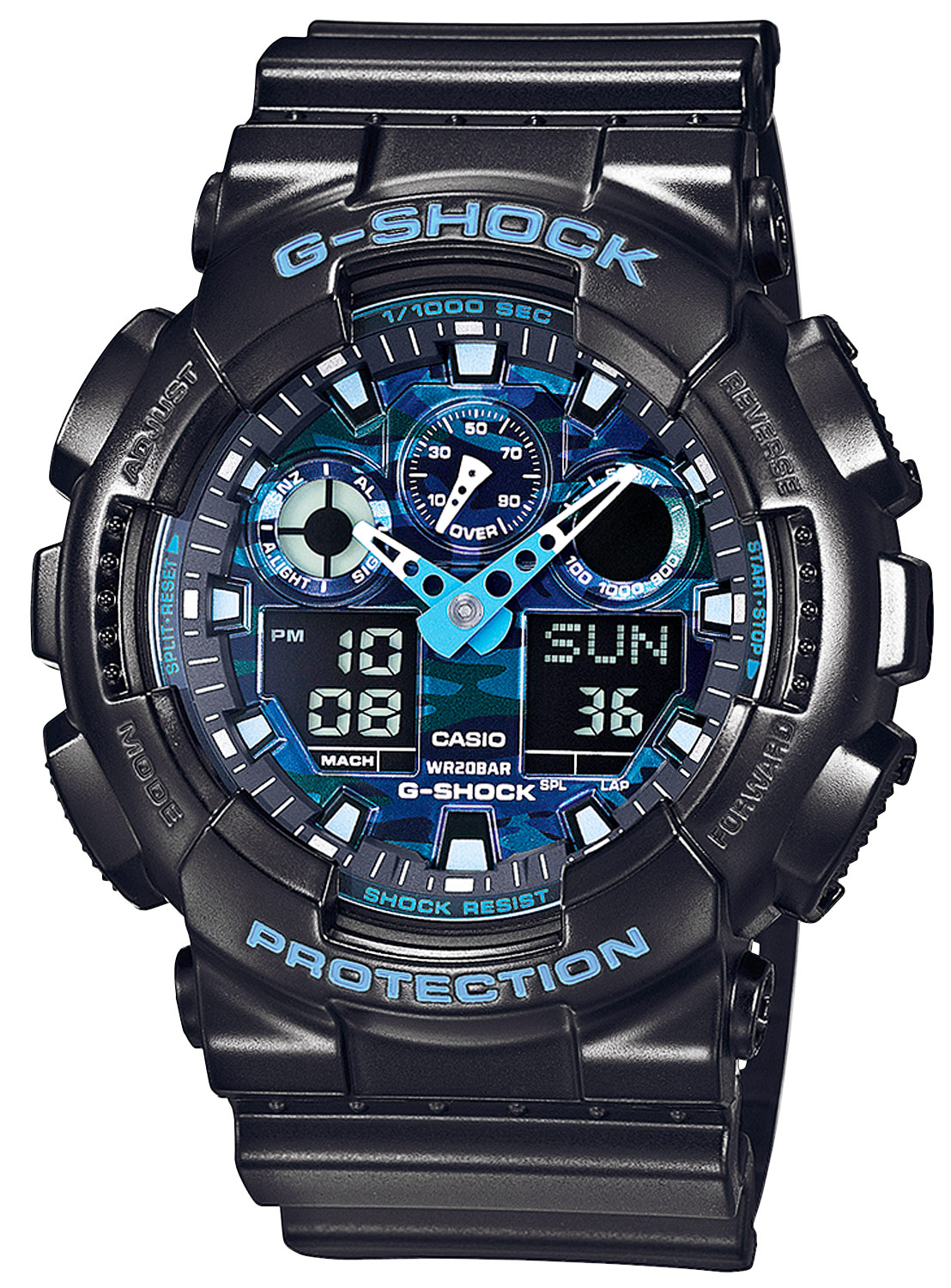 casio g shock herrenuhr ga 100cb 1aer uhrcenter uhren shop. Black Bedroom Furniture Sets. Home Design Ideas