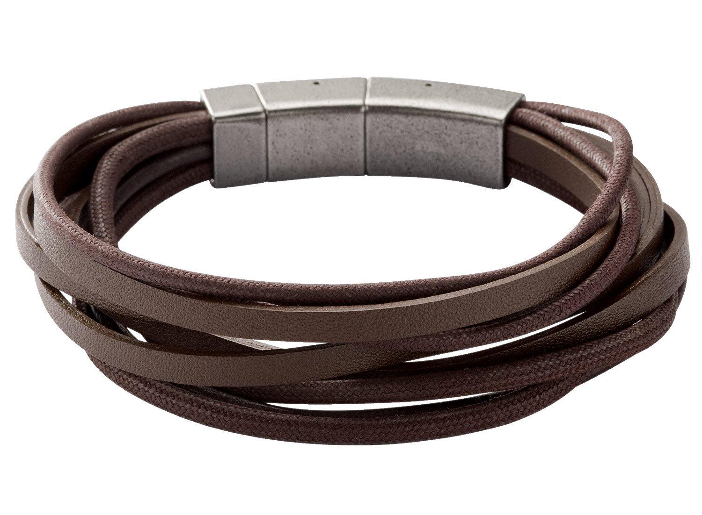 fossil herren armband jf86202040 uhrcenter schmuck shop. Black Bedroom Furniture Sets. Home Design Ideas