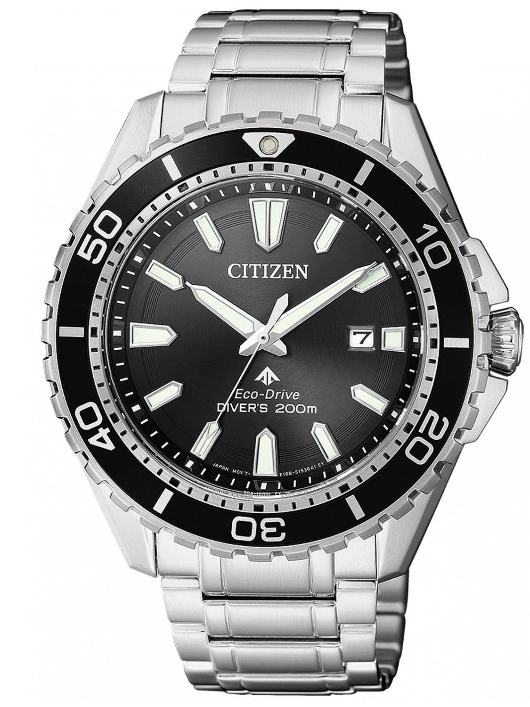 CITIZEN Promaster Marine Eco-Drive Diver`s Watch BN0190-82E