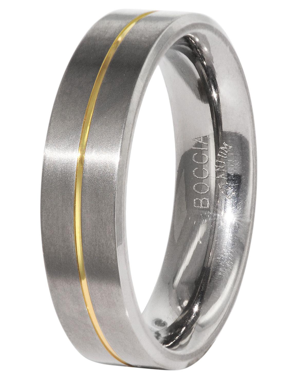 Boccia Titanium Ring Herren