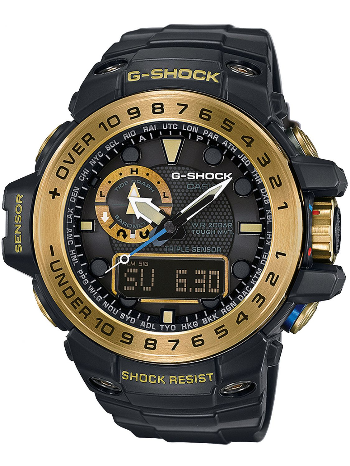casio g shock gulfmaster mens gwn 1000gb 1aer