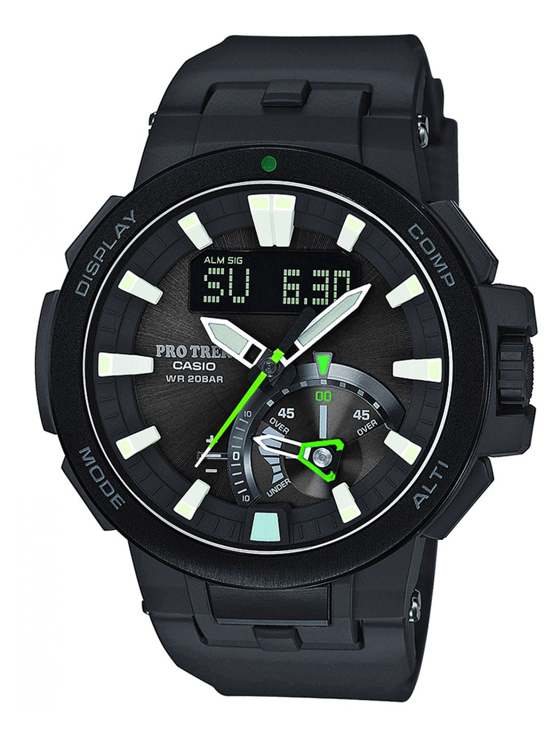 Shop Watches Casio Pro Trek Outdoor PRW 7000 1AER