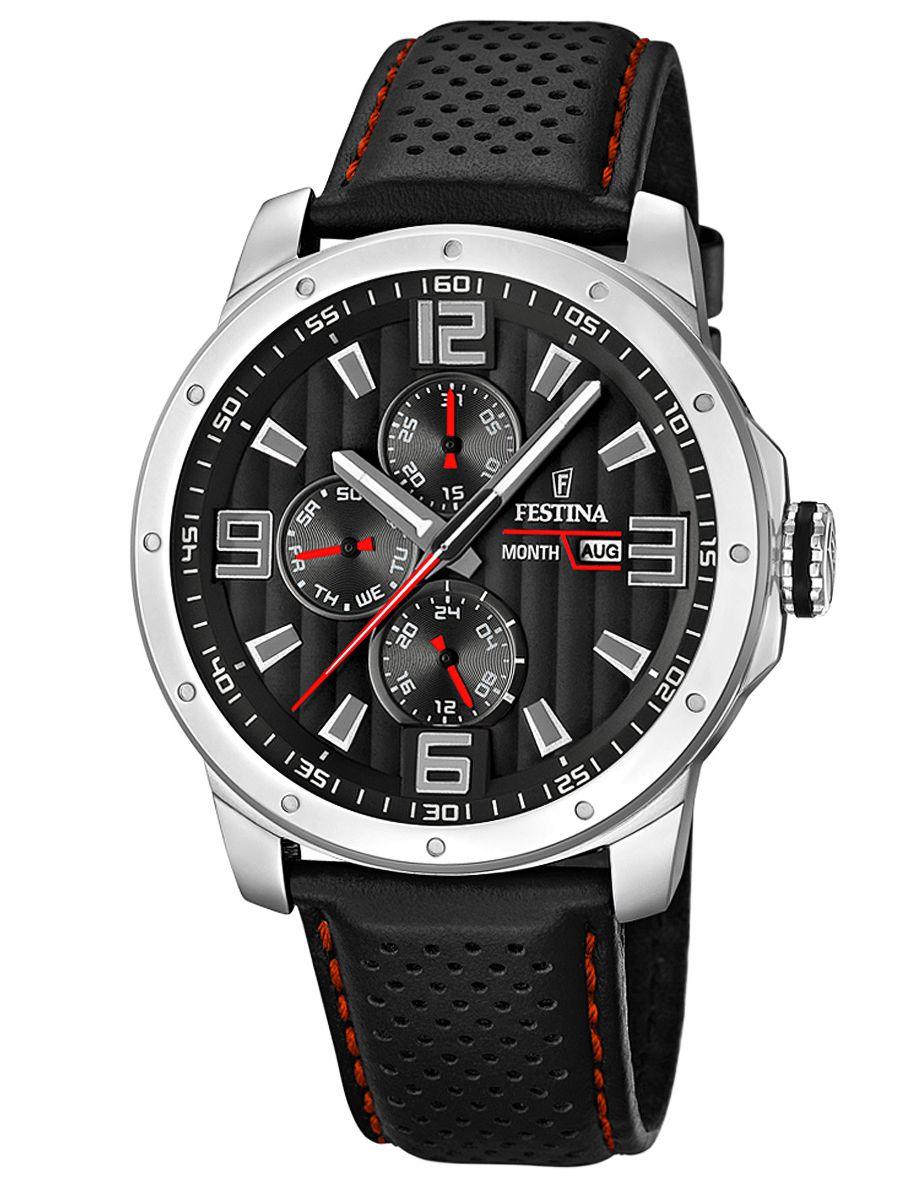Festina Multifunction Mens Watch F16585 8 Uhrcenter