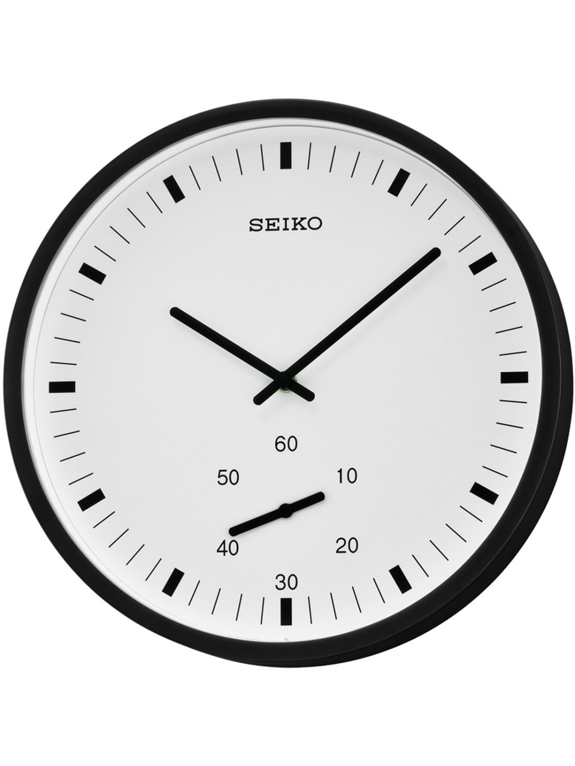 seiko qxa543k quartz wall clock uhrcenter clocks shop. Black Bedroom Furniture Sets. Home Design Ideas
