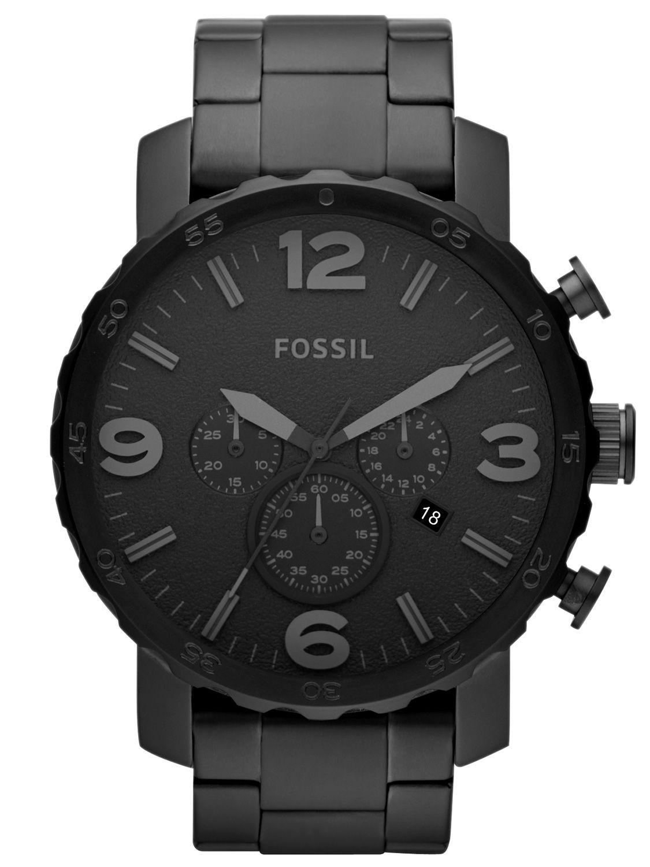 fossil nate herren chronograph jr1401 uhrcenter uhren shop. Black Bedroom Furniture Sets. Home Design Ideas