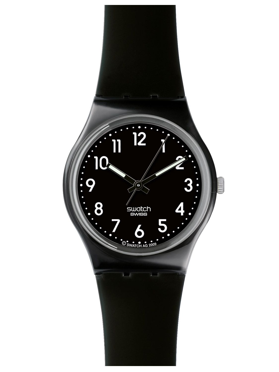 swatch black suit watch gb247r uhrcenter watches shop. Black Bedroom Furniture Sets. Home Design Ideas