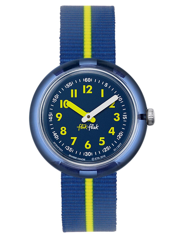 Armbanduhr kinder flik flak  FLIK FLAK Yellow Band Kinder-Armbanduhr FPNP023 • uhrcenter