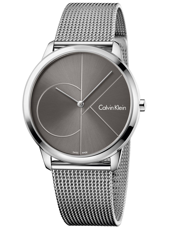 Calvin klein minimal mens wrist watch k3m21123 uhrcenter for Minimal art wrist watch