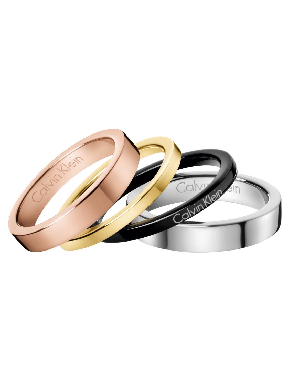 CALVIN KLEIN Gorgeous Ladies Ring Set KJ7GPR4001 • uhrcenter