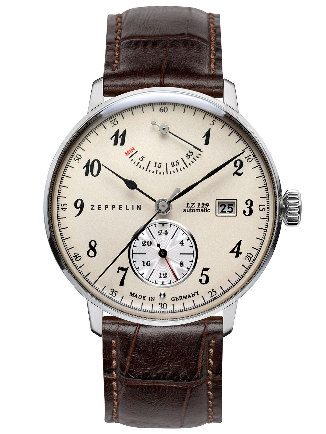 ZEPPELIN Hindenburg Automatic Gents Watch 7060-4 • uhrcenter