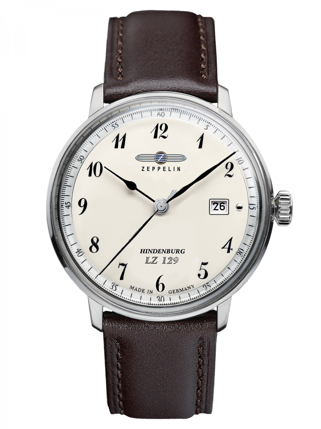 ZEPPELIN Hindenburg Gents Watch 7046-4 • uhrcenter