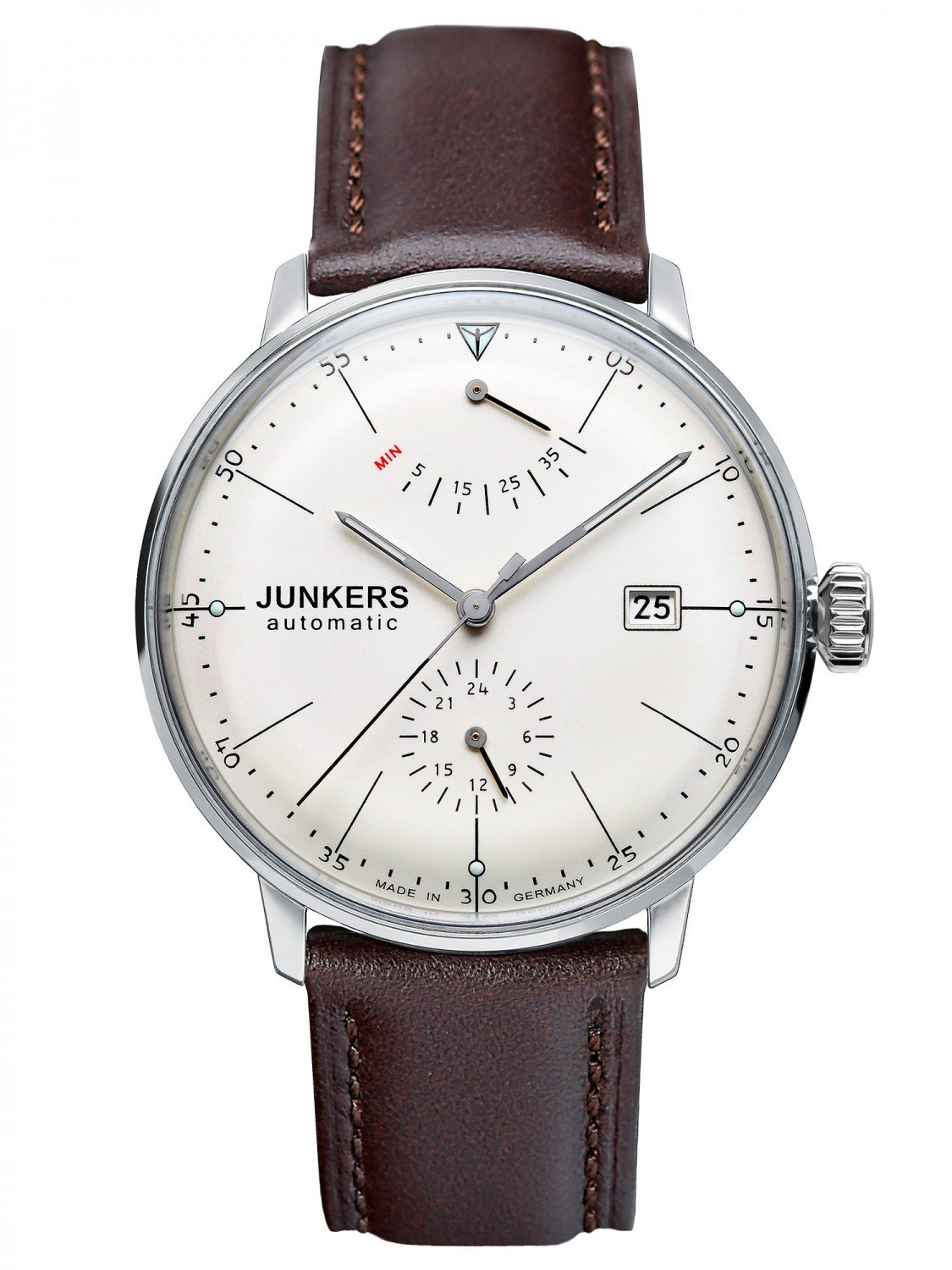 JUNKERS Bauhaus Automatic Mens Watch 6060-5 • uhrcenter
