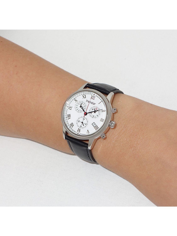 trendor damen chronograph 7600 01 uhrcenter uhren shop. Black Bedroom Furniture Sets. Home Design Ideas