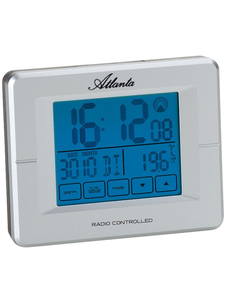atlanta 1811 19 digital radio controlled alarm clock uhrcenter. Black Bedroom Furniture Sets. Home Design Ideas