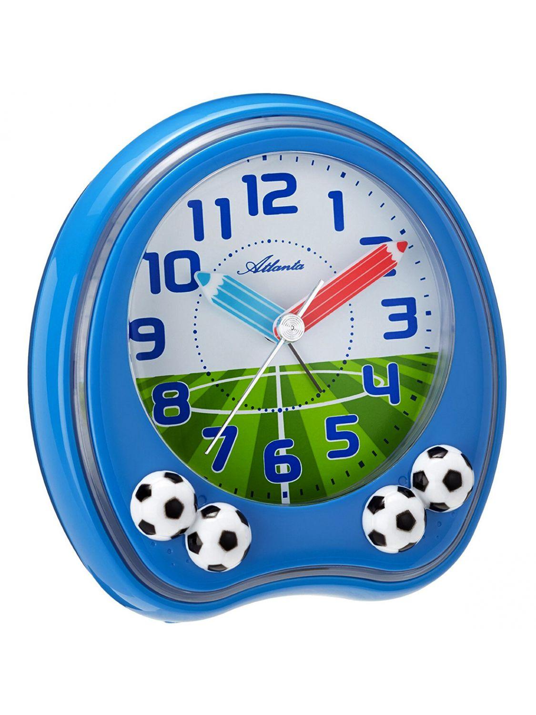 Atlanta 1719 5 Kids Alarm Clock Football Uhrcenter