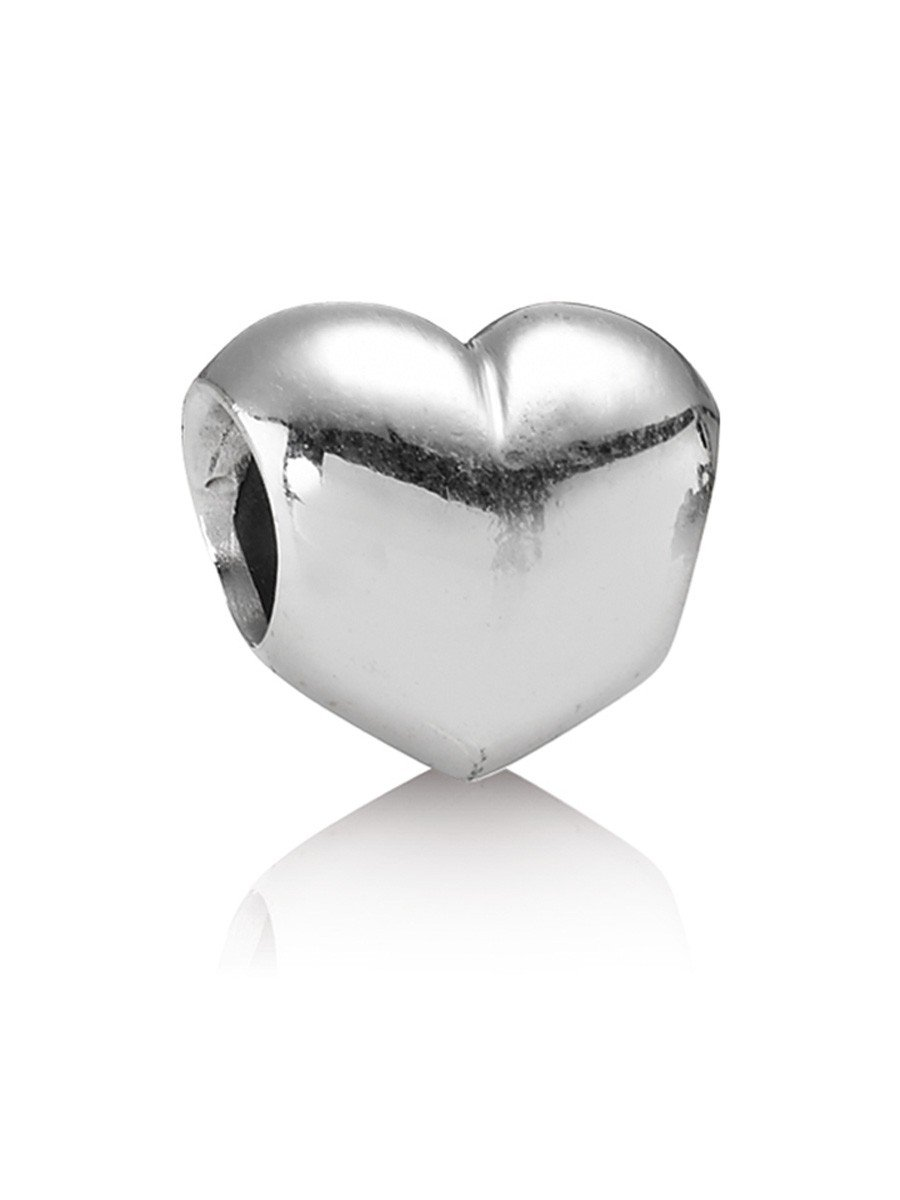 pandora silver charm heart 790137 uhrcenter jewellery shop. Black Bedroom Furniture Sets. Home Design Ideas