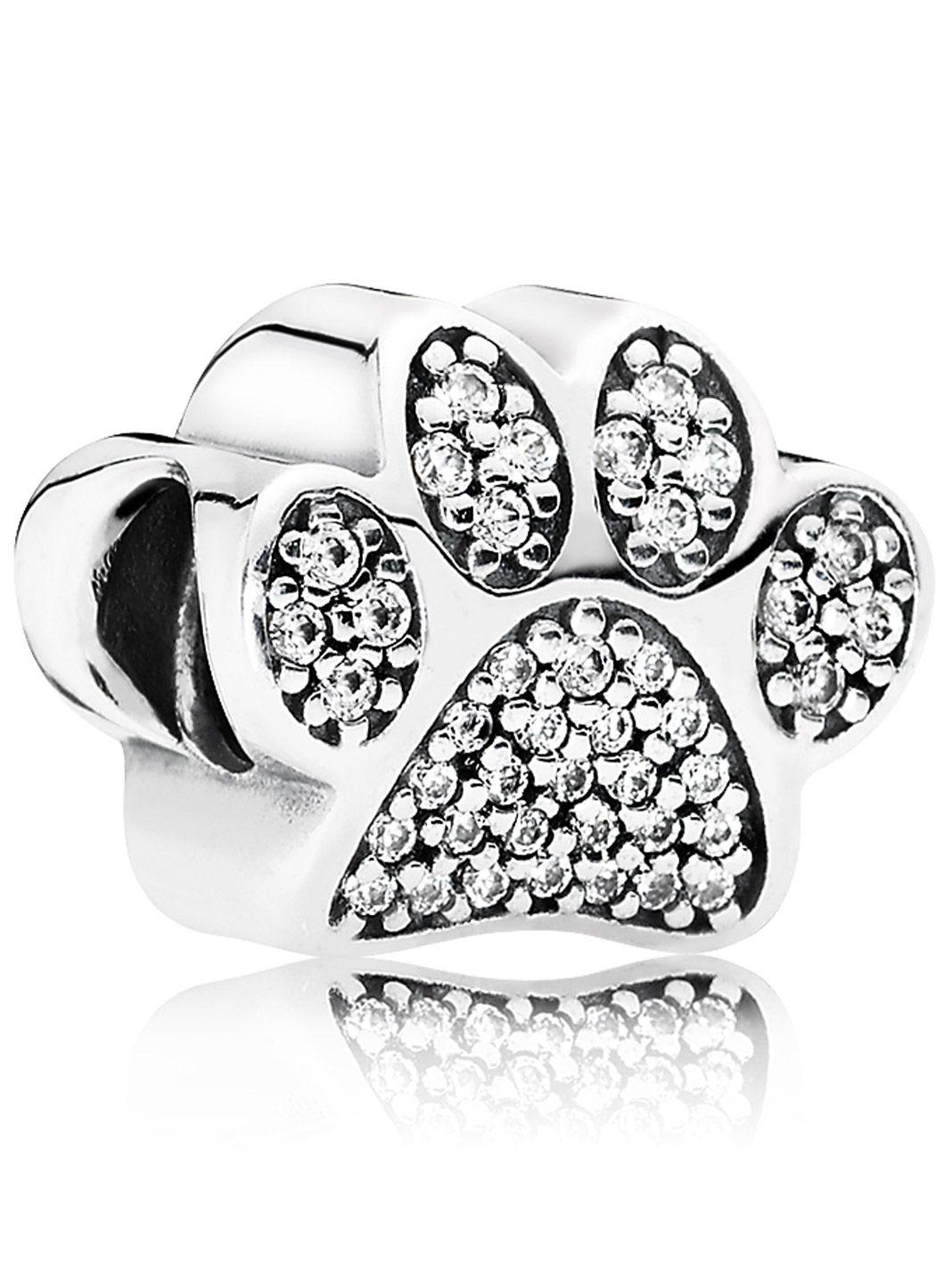 pandora charm pave paw 791714cz uhrcenter jewellery shop