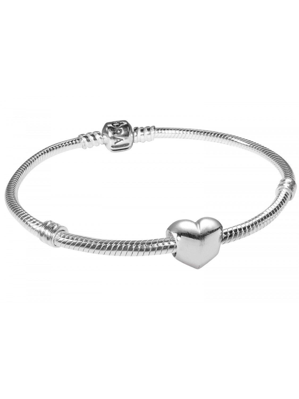 pandora starter bracelet heart 83440 uhrcenter jewellery. Black Bedroom Furniture Sets. Home Design Ideas