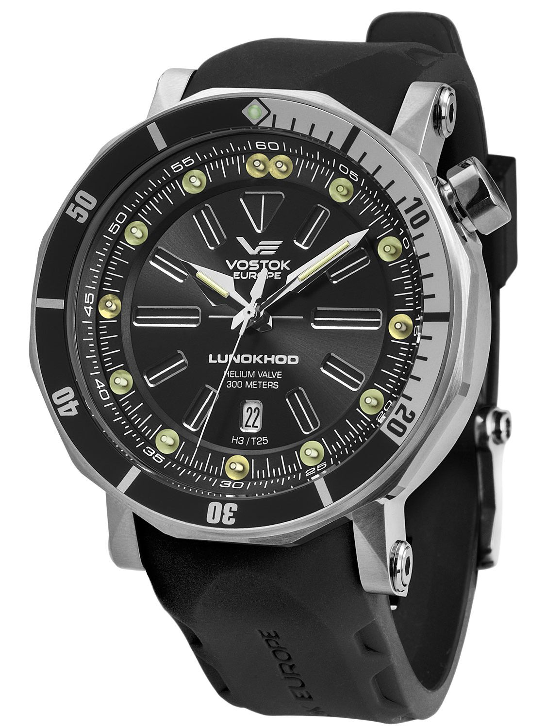 Vostok europe lunokhod 2 automatic mens watch 6205210 for Vostok europe watches