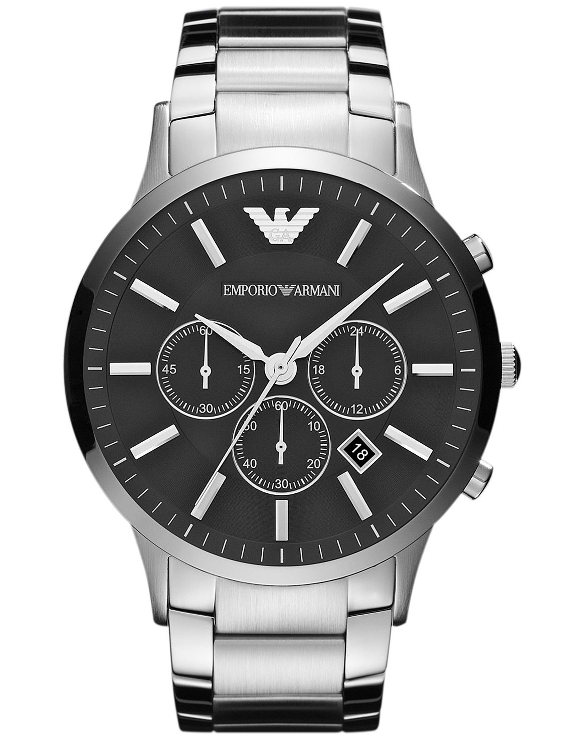 emporio armani chronograph herrenuhr ar2460 uhrcenter. Black Bedroom Furniture Sets. Home Design Ideas