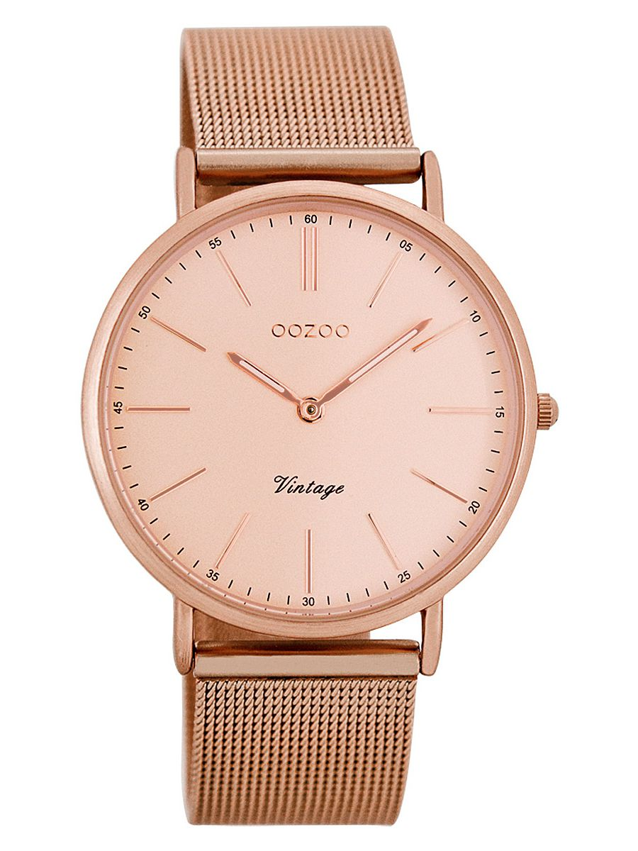 oozoo vintage damen armbanduhr ros 36 mm c7399. Black Bedroom Furniture Sets. Home Design Ideas