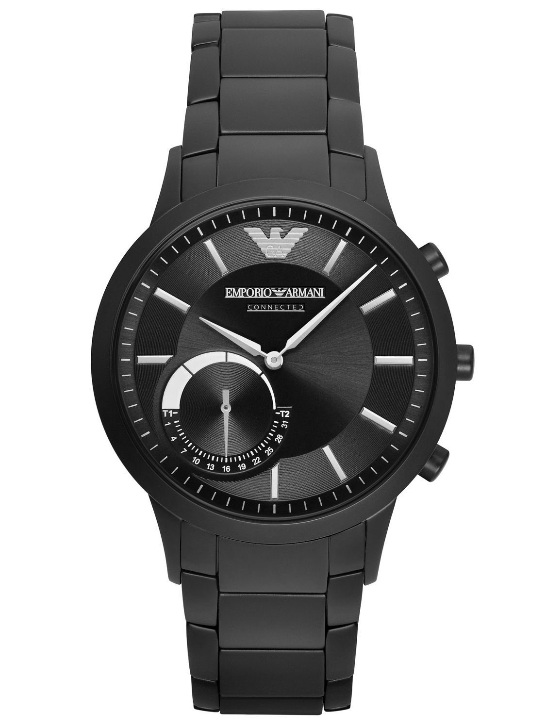 emporio armani connected hybrid herren smartwatch art3001. Black Bedroom Furniture Sets. Home Design Ideas