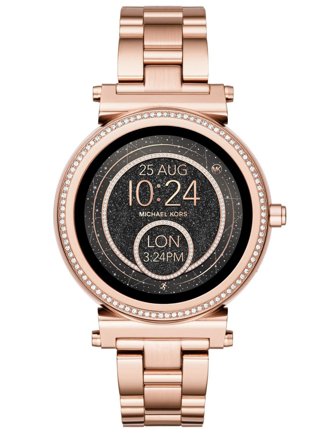 michael kors access ladies smartwatch sofie pav rose gold. Black Bedroom Furniture Sets. Home Design Ideas