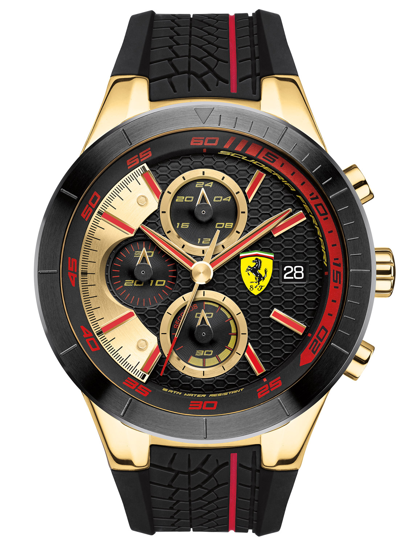 scuderia ferrari chronograph mens watch 0830298
