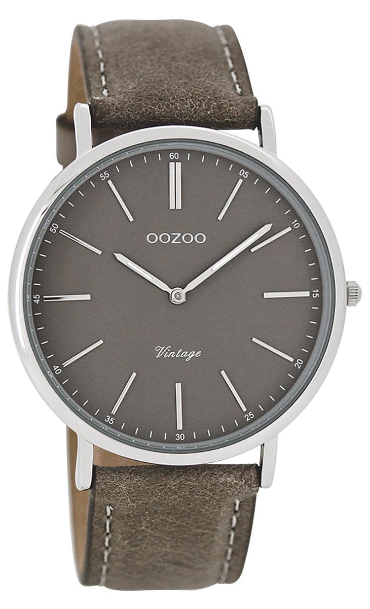 oozoo vintage damen armbanduhr hellgrau 40 mm c7331. Black Bedroom Furniture Sets. Home Design Ideas