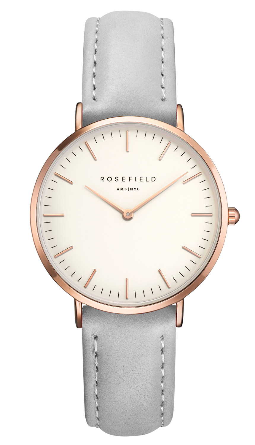 rosefield the tribeca white grey rose gold ladies watch. Black Bedroom Furniture Sets. Home Design Ideas