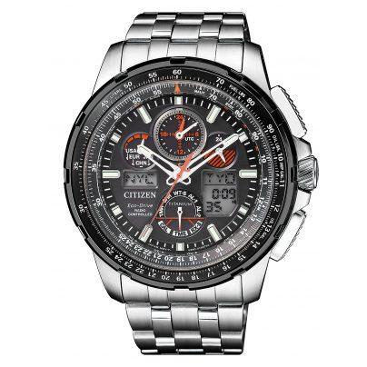 Citizen JY8069-88E Promaster Sky Eco-Drive Funk Herrenuhr Titan 4974374274809
