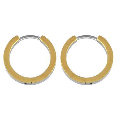 Boccia 0577-02 Titanium Damen-Creolen 4040066208657