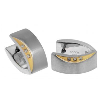 Boccia 05002-04 Titan Ohrringe Scharnier-Creolen 4040066232935