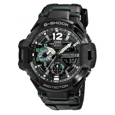 Casio GA-1100-1A3ER G-Shock Herrenuhr mit Thermometer 4971850062615
