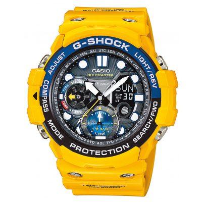 Casio GN-1000-9AER G-Shock Gulfmaster Gelb Armbanduhr 4971850027584