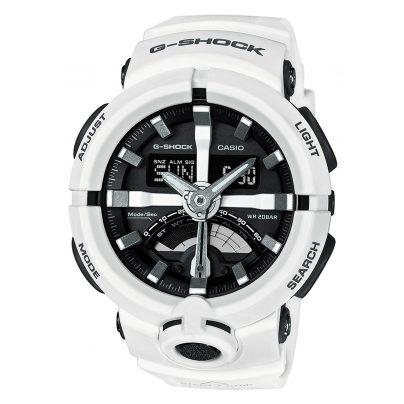 Casio GA-500-7AER G-Shock Herrenuhr Weiß 4549526131844
