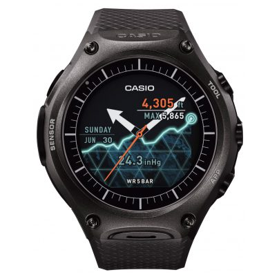 Casio WSD-F10BKAAE Smart Outdoor Uhr Schwarz 4549526850066