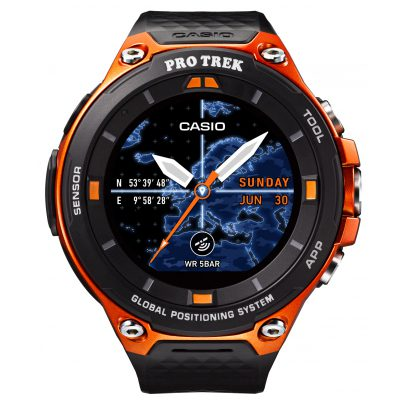 Casio WSD-F20-RGBAE Smart Outdoor Uhr GPS Orange 4549526850189
