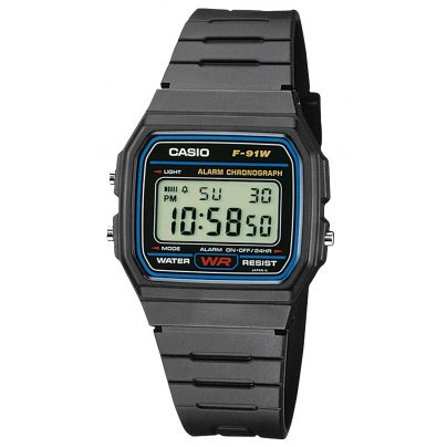 Casio F-91W-1YEF Digitaluhr 4971850809265