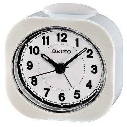 Seiko QHE121W Quarz-Wecker Weiß 4517228828423