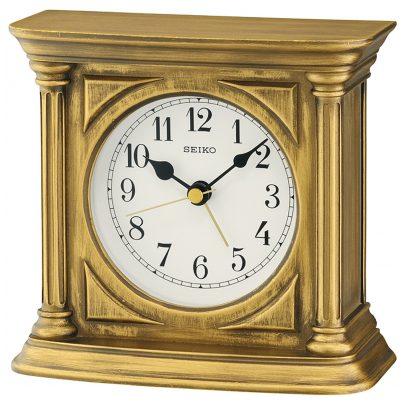 Seiko QXE051G Desk Clock with Alarm 4517228829246