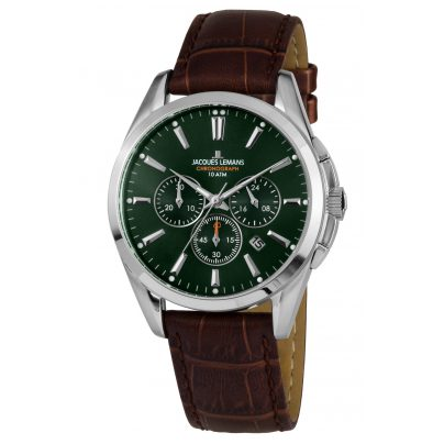 Jacques Lemans 1-1945C Herren-Chronograph Derby 4040662134336