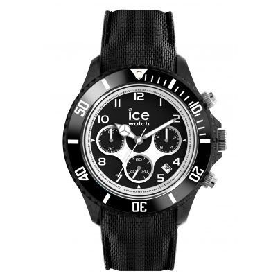 Ice-Watch 014222 Herren-Chronograph Ice Dune Schwarz XL 4895164074303