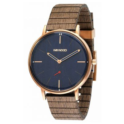WeWood WW63003 Holzuhr Albacore Rose Gold Blue Apricot 0725350506841