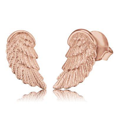 Engelsrufer ERE-WING-STR Flügel Ohrringe Rosé 4260463197655