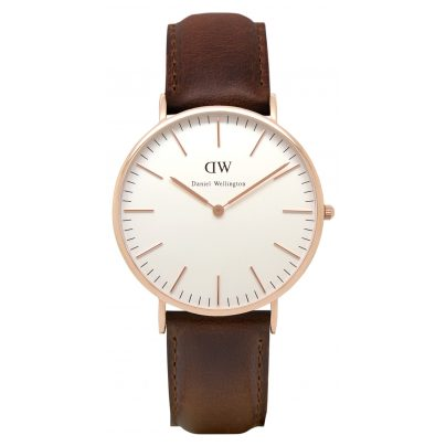 Daniel Wellington DW00100039 Bristol Rose Gold Damenuhr 7350068240935