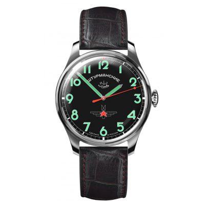 Sturmanskie 2609-3707130 Retro Gagarin Herren-Handaufzugsuhr 4260157446861