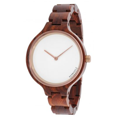 Kerbholz Hinze Rosewood Ladies Wood Watch 7051845995610